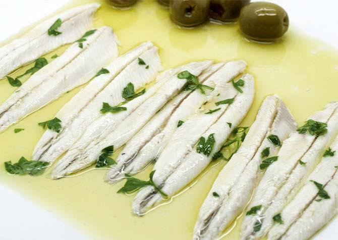 Boquerones gourmet Kiele