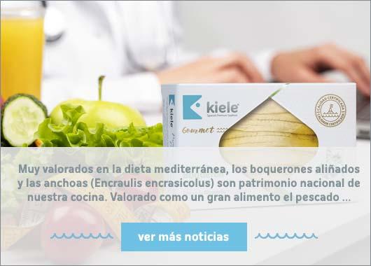 Semiconservas gourmet Kiele para una dieta sana